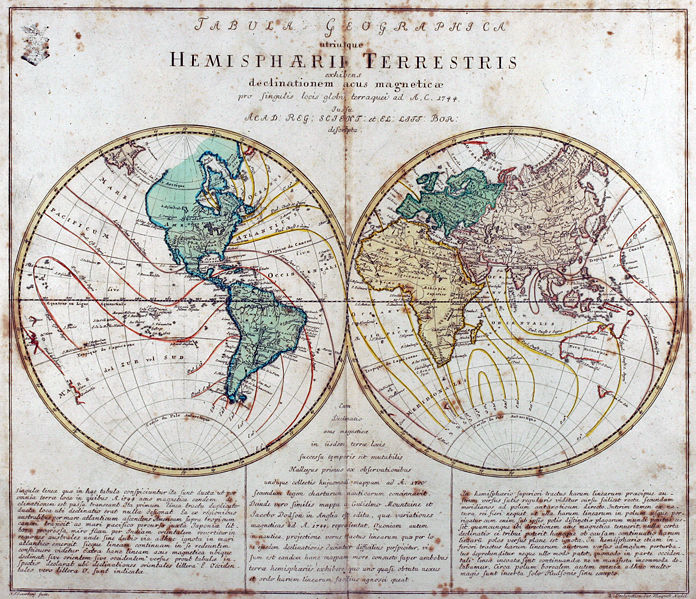 696px Leonhard Euler World Map AD1760