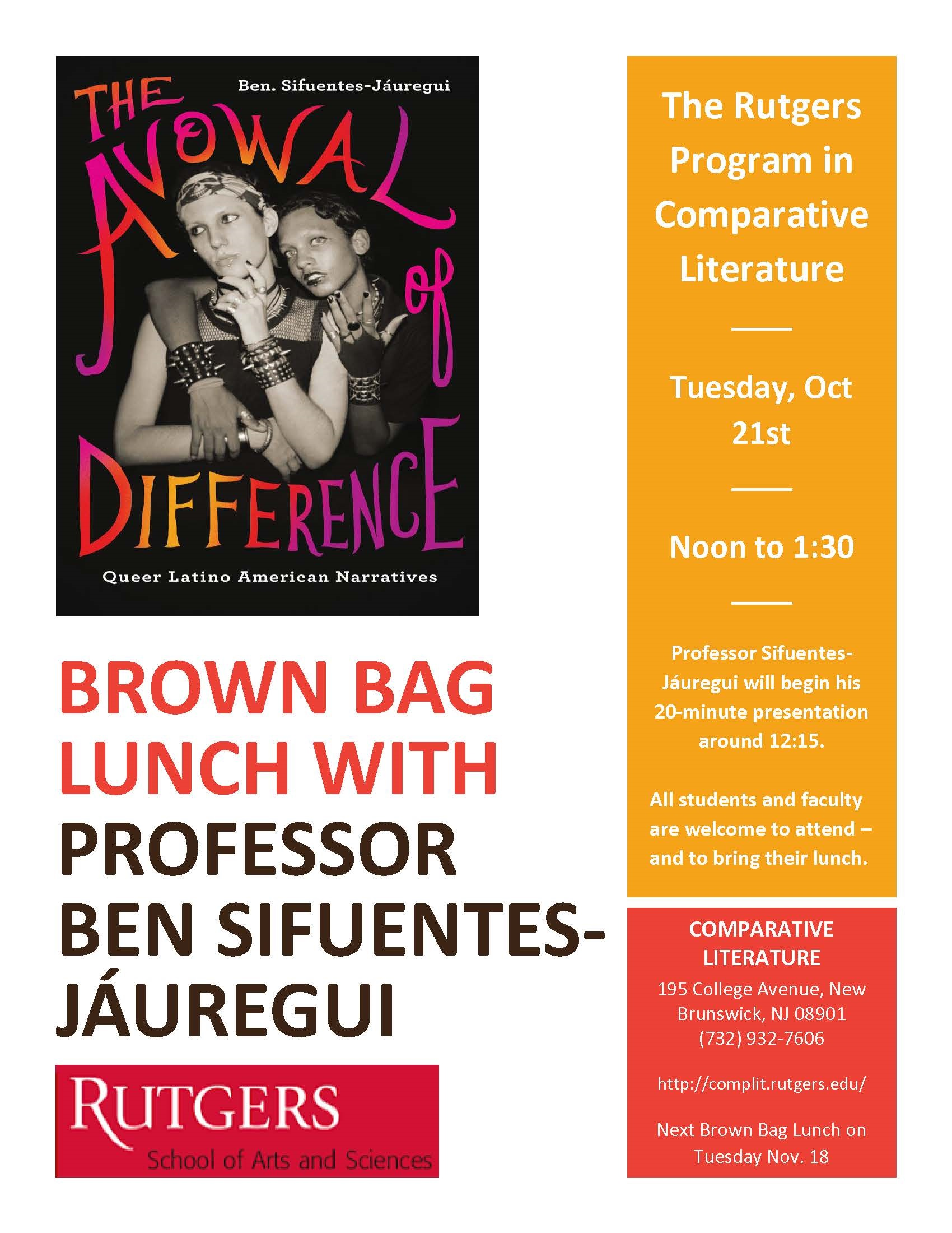 Alidou September 23, 2014 Brown Bag Luncheon